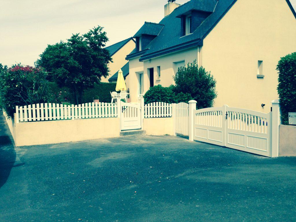 Pose De Cloture Ille Et Vilaine portails et clôtures sur mesure chez festoc (35)
